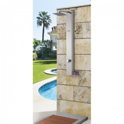 Columna de jardin -piscina