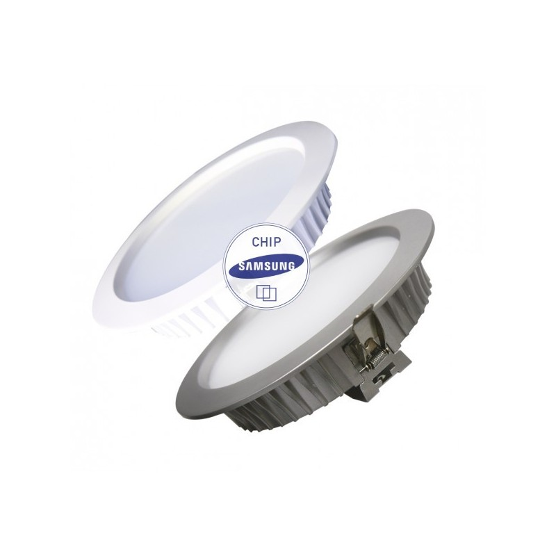 DOWNLIGHT 24W Regulable Blanc o Plata - Sansung - Llum Cálida