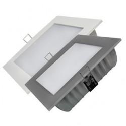 Luminaire Encastrable Carré  24W Blanc ou Argent - SAMSUNG