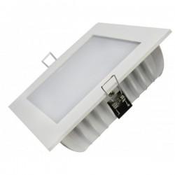Luminaire Encastrable Carre Blanc 24W  Blanc ou Argent - SAMSUNG