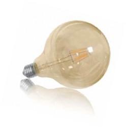 Ampoule LED Boule Filament   E27 Lumière Chaude