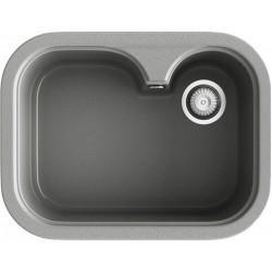 Aigüera sintètica 1 cubeta gran de 54 cm de Color Gris Alumini