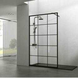 Black Shower Screen