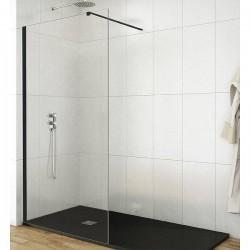 Mampara frontal de ducha de 120 cm