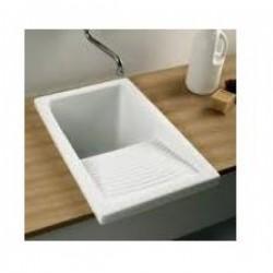Fregadero Sintetico  para Exterior de Color Blanco o Gris