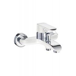 White Bath Shower Mixer
