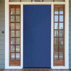 Cortina de PVC de Color Blau