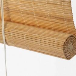 Cortina de tejido de madera...