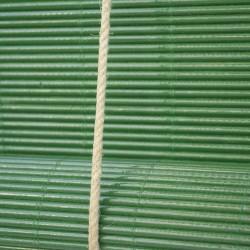 GREEN Wooden Curtain...