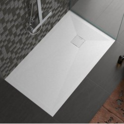 Stone shower plate