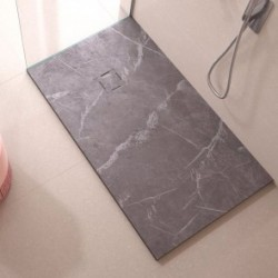 Shower Plate Grey