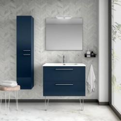 Moble de Bany de Color Blau